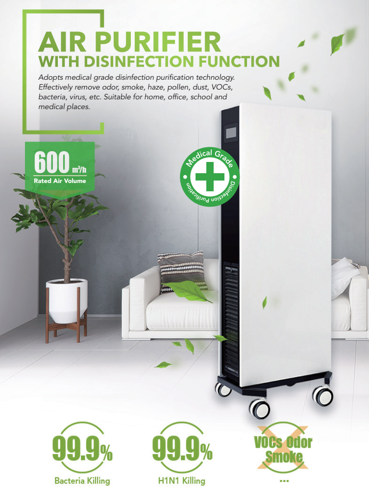 air purifier disinfection